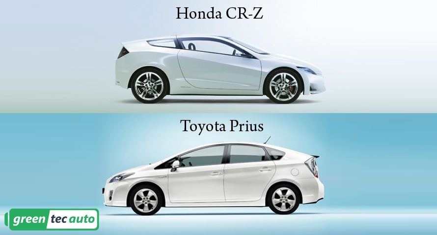 Honda CR-Z vs Toyota Prius. What hybrid to buy