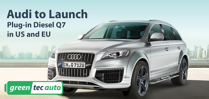 Audi Q7 diesel plug-in hybrid