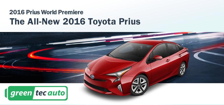 2016 Prius World Premiere