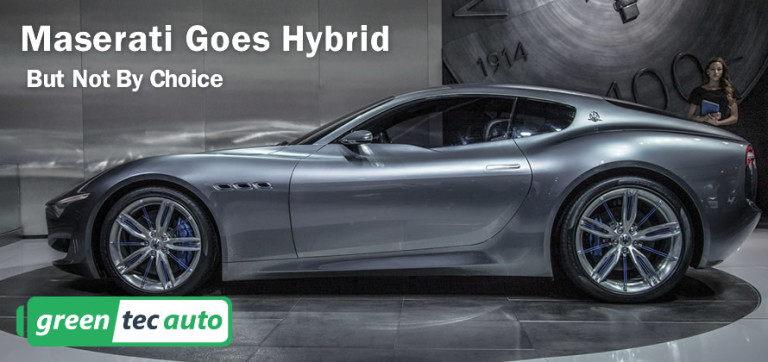 Maserati Goes Hybrid