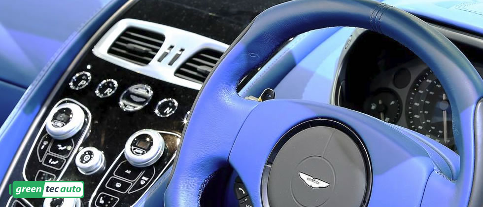 Beautiful in blue Aston Martin Vanquish