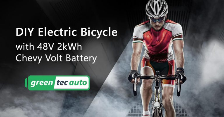 DIY Electric Bicycle with Chevy Volt Battery
