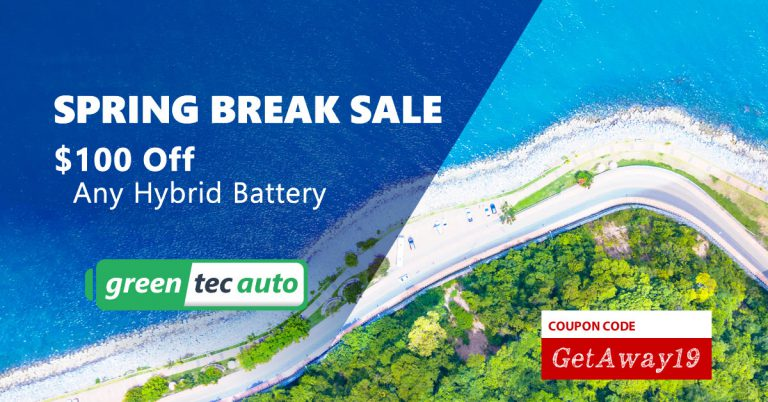 Spring Break Sale 2019 on Hybrid Batteries