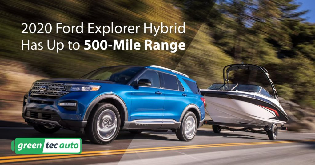 2020 Ford Explorer Hybrid MPG and range
