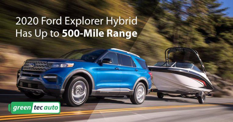 2020 Ford Explorer Hybrid MPG and range