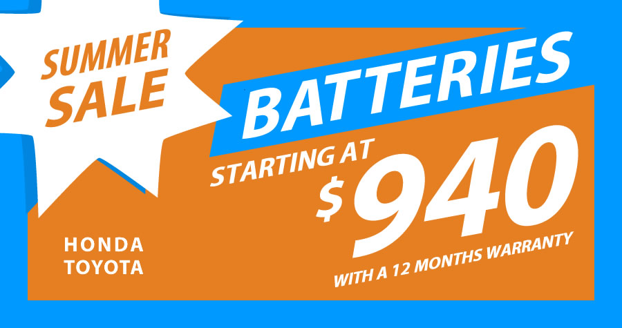 Summer Sale on Hybrid Batteries