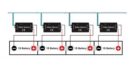 battery voltage balancer diagram